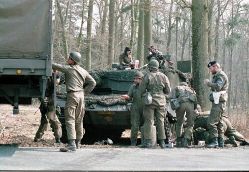 1983 1987 B Esk 103 Verkbat Veel oefeningen Inz. Wmr I Jan Pol 38