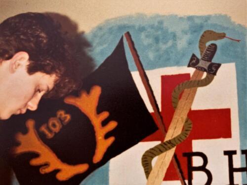 1983 SSV Esk 103 Verkbat Geneeskundig pel Vaantje BHP Inz. Paul Krijvenaar