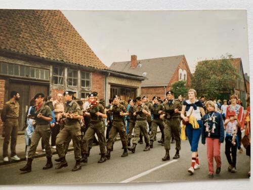 1983 SSV Esk 103 Verkbat Gnk pel Avondvierdaagse Zeven Inz. Paul Krijvenaar