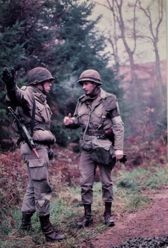 1983 103 Verbat Oef Steunzool; Ritm Jaques Bogmans en Knt Mark Blokhuis. Fotoboek Maj PBC R Meeder