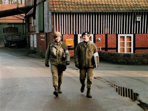 1983 103 Verbat; Oef Steunzool; Ritms S3 Jaques Bogmans met S2 Roy Sandee. Fotoboek Maj PBC R Meeder