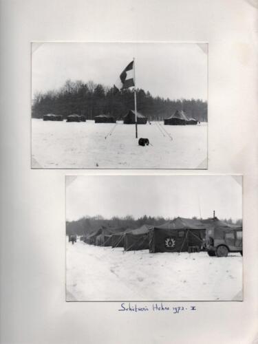 1972 A-Esk 103 Verkbat; Schietserie 72-1 Hohne. Uit het fotoboek van de Ritm R Meeder  (1)