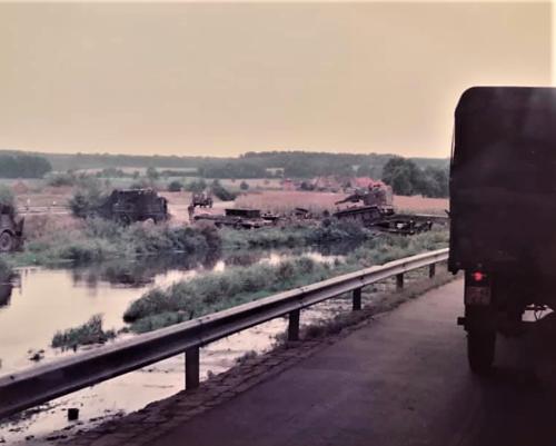 1984 09 SSV Esk 103 Verkbat Oef Autmn Moment Elbe SK Inz. Hans Verlinden 2