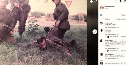 1984 09 SSV Esk 103 Verkbat Oef Autmn Moment S4 Maj Nix Gevangen Inz. Hans Verlinden