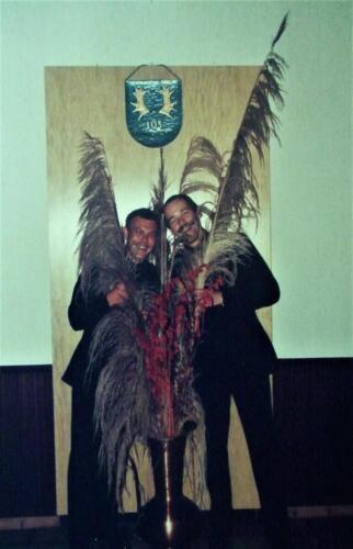 1985 SSV Esk 103 Verkbat Gebeurtenis in OffMess Inz. Ritm Jan Cremers met Tlnt Harry Eggens