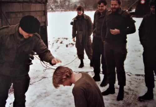 1985 SSV Esk 103 Verkbat o.a. Sgt I Maurits en inzender Ritm Cremers.
