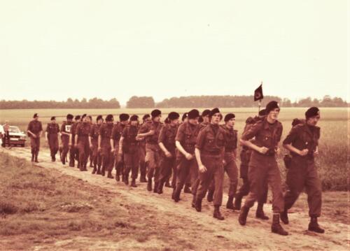 1985 geschat 103 Verkbat Avondvierdaagse omgeving Zeven