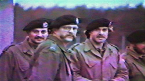 1986 06 103 Verkbat Luneburg Ritm vd Bos Wmr I Henk de Klepper en Wmr I Ruud de Lange