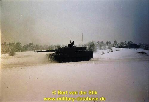 1986 11 B Esk 103 Verkbat Oefeningen Luneburgerheide en Bergen Hohne. Fotos Bert vd Slik 2