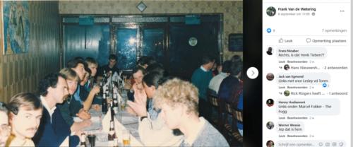 1986 1987 B Esk 103 Verkbat uitgaan en vertier naast de dienst. Bedankt Frank van de Wetering 1