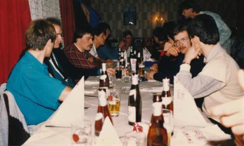 1986 1987 B Esk 103 Verkbat uitgaan en vertier naast de dienst. Bedankt Frank van de Wetering 3