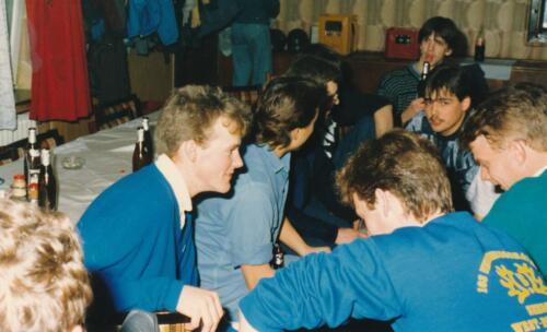 1986 1987 B Esk 103 Verkbat uitgaan en vertier naast de dienst. Bedankt Frank van de Wetering 4
