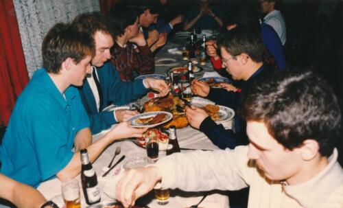 1986 1987 B Esk 103 Verkbat uitgaan en vertier naast de dienst. Bedankt Frank van de Wetering 7