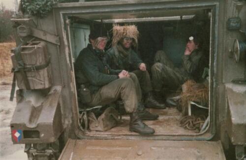 1986 A Esk 103 Verkbat Gevaar voor bos en heidebrand. Foto Huz I Paul Poelman 16