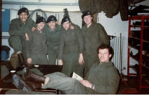 1986 A Esk 103 Verkbat Kazerneleven. Fotos Huz I Paul Poelman 2