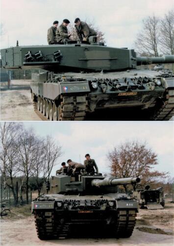 1986 A-Esk 103 Verkbat; Leopards II Foto's Huz I Paul Poelman (3)