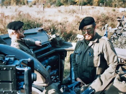1986 A Esk 103 Verkbat Ritms vd Aker en Piebinga. Oefn schietserie en nog wat. Bedankt Johan Willemsen 27