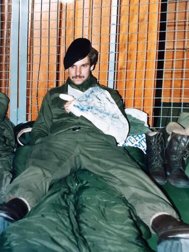 1986 A Esk 103 Verkbat Ritms vd Aker en Piebinga. Oefn schietserie en nog wat. Bedankt Johan Willemsen 28