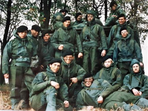 1986 A Esk 103 Verkbat Ritms vd Aker en Piebinga. Oefn schietserie en nog wat. Bedankt Johan Willemsen 33