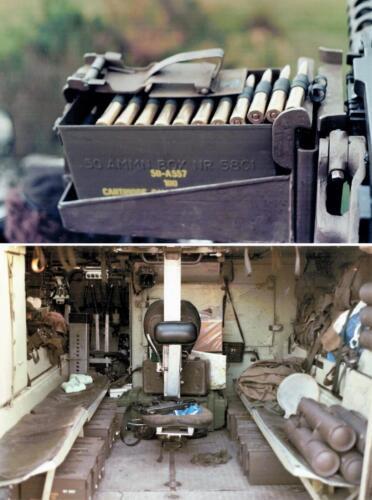1986 A Esk 103 Verkbat Schietoefeningen tijdens schietserie Bergen Hohne. Fotos Huz I Paul Poelman 3