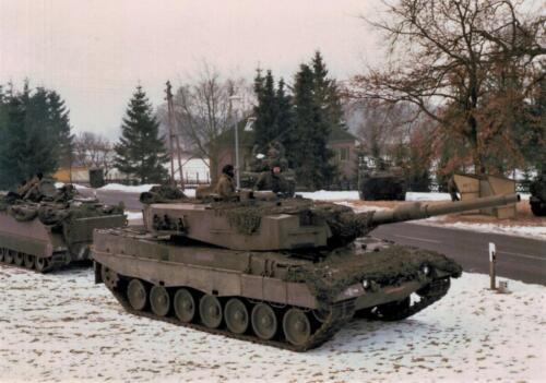 1986 A-Esk 103 Verkbat; Winterse taferelen. Foto's Huz I Paul Poelman (25)