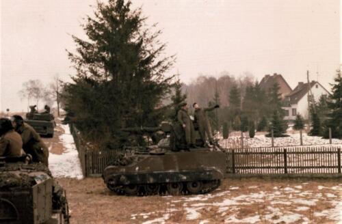 1986 A-Esk 103 Verkbat; Winterse taferelen. Foto's Huz I Paul Poelman (26)