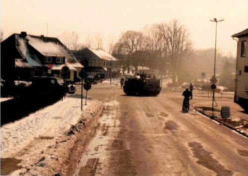 1986 A-Esk 103 Verkbat; Winterse taferelen. Foto's Huz I Paul Poelman (28)