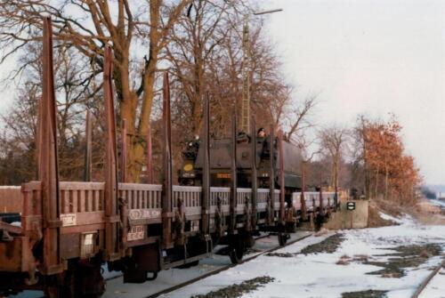 1986 A-Esk 103 Verkbat; Winterse taferelen. Foto's Huz I Paul Poelman (29)