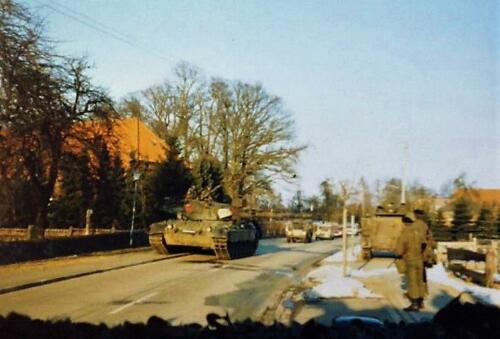 1986 B Esk 103 Verkbat Oefeningen Luneburgerheide en Bergen Hohne. 14