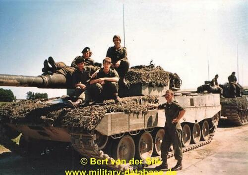 1986 B Esk 103 Verkbat Oefeningen Luneburgerheide en Bergen Hohne. 15