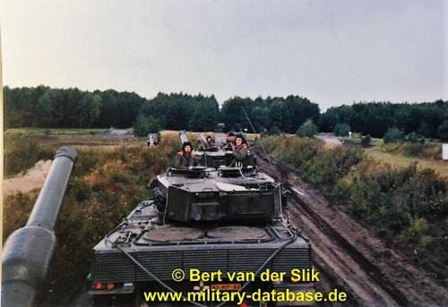 1986 B Esk 103 Verkbat Oefeningen Luneburgerheide en Bergen Hohne. 16