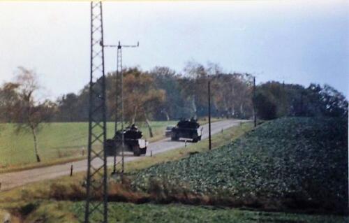 1986 B Esk 103 Verkbat Oefeningen Luneburgerheide en Bergen Hohne. 3