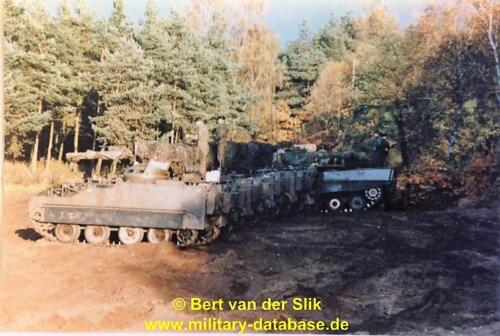 1986 B Esk 103 Verkbat Oefeningen Luneburgerheide en Bergen Hohne. 8