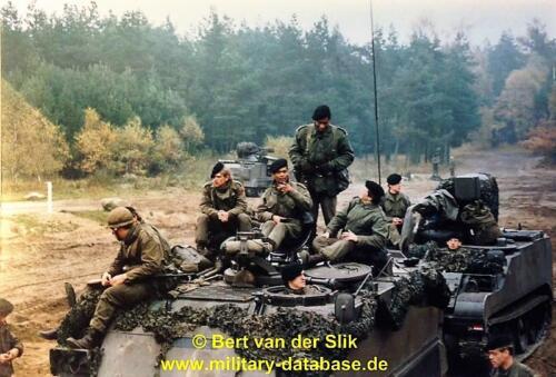 1986 B Esk 103 Verkbat Oefeningen Luneburgerheide en Bergen Hohne. Fotos Bert vd Slik 1