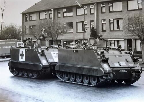 1986 Rij opleiding PIROC Zo begon het voor vele M113 en AMX chauffeurs 1