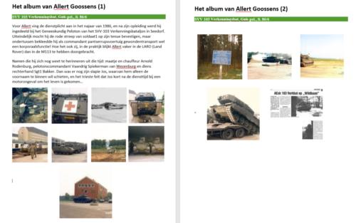 1986 SSV Esk Gnk Pel 103 Verkbat Het album van Allert Goossens