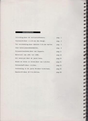 1986 'Contact, wacht uit'... Kroniek van 25 jaar 103 Verkenningsbataljon b