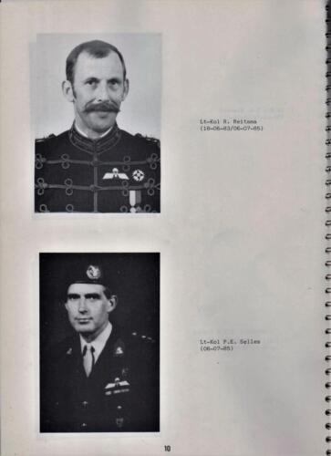 1986 'Contact, wacht uit'... Kroniek van 25 jaar 103 Verkenningsbataljon 10