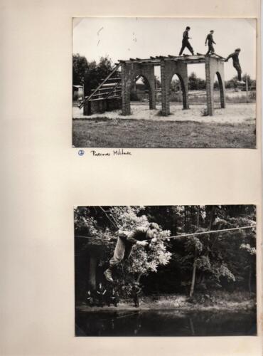 1971 A-Esk 103 Verkbat; Deelname Parcours Militair. Fotoboek Ritm R Meeder  (1)