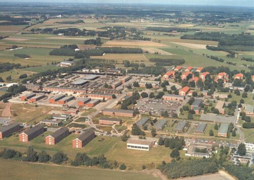 1987 Luchtfoto Legerplaats Seedorf