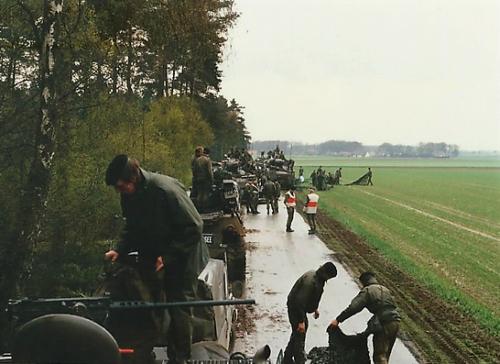 1988 1989 B Esk 103 Verkbat Oefeningen Inzender Martin Meijer 1