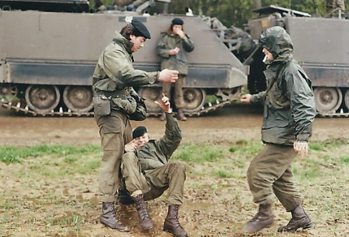 1988 1989 B Esk 103 Verkbat Oefeningen Inzender Martin Meijer 7