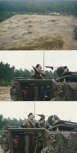 1988 1989 B Esk 103 Verkbat Schietserie Mortier 4.2 Inzender Martin Meijer 4