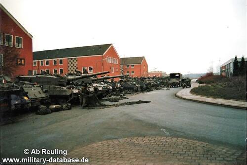 1988 1989 B Esk 103 Verkbat Seedorf Kazerne Onderhoud 4