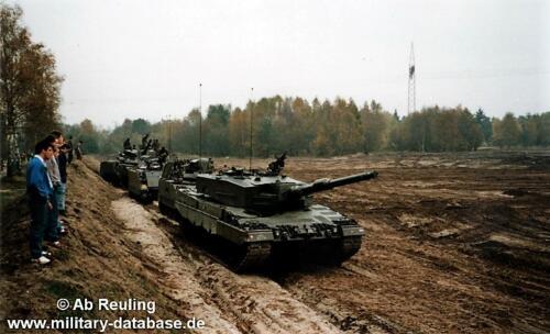 1988 1989 B Esk 103 Verkbat Seedorf Kazerne Treinladen en Oefeningen. 8