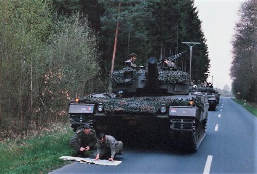 1989 04 15 B Esk 103 Verkbat Oef Hasty Rider Ritm v Grinsven heeft vertrouwen in ch Leop II