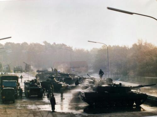 1989 A Esk 103 Verkbat Afspuiten na Oefening Inzender Marcel Grandia 1