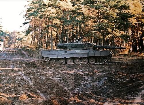 1989 A Esk 103 Verkbat Oefening omgeving Luneburger Heide Inzender Marcel Grandia 2