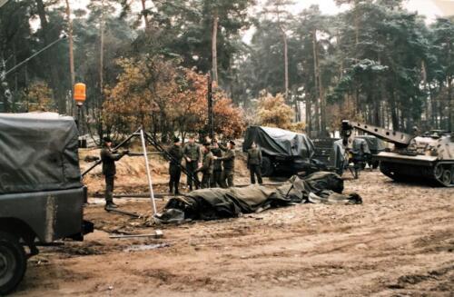 1989 A Esk 103 Verkbat Oefening omgeving Luneburger Heide Inzender Marcel Grandia 6