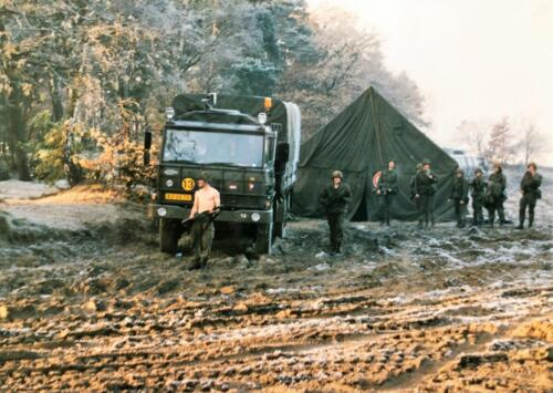 1989 A Esk 103 Verkbat Oefening omgeving Luneburger Heide Inzender Marcel Grandia 7